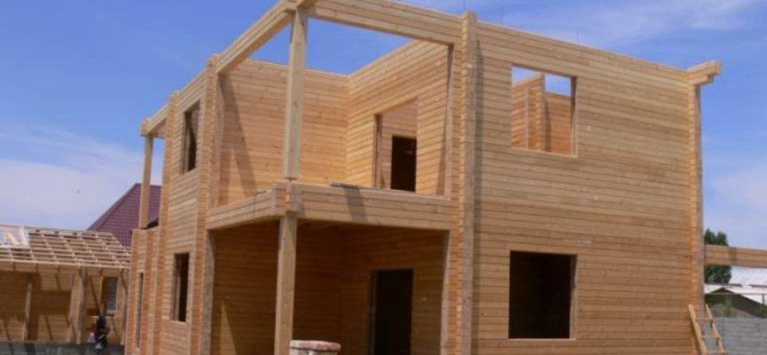 Проект дома из клееного бруса в Московской области