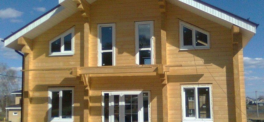 Дом из клеёного бруса в Нижнем Новгороде