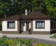 Проект кирпичного дома ГБ-172, площадь 172 кв.м - вид 1