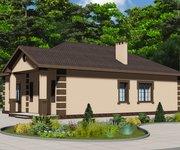 Проект кирпичного дома ГБ-123, площадь 123 кв.м - вид 2
