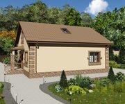 Проект кирпичного дома ГБ-152, площадь 152 кв.м - вид 2