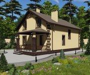 Проект кирпичного дома ГБ-177, площадь 177 кв.м - вид 2