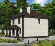 Проект кирпичного дома ГБ-170, площадь 170 кв.м - вид 2
