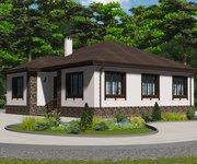 Проект кирпичного дома ГБ-172, площадь 172 кв.м - вид 2