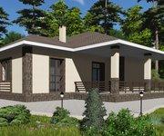 Проект одноэтажного кирпичного дома ГБ-171, площадь 171 кв.м - вид 2