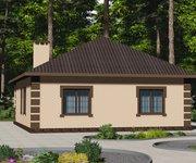 Проект кирпичного дома ГБ-123, площадь 123 кв.м - вид 3