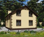 Проект кирпичного дома ГБ-177, площадь 177 кв.м - вид 3