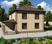Проект кирпичного дома ГБ-220, площадь 220 кв.м - вид 3