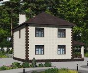 Проект кирпичного дома ГБ-170, площадь 170 кв.м - вид 3