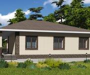Проект одноэтажного кирпичного дома ГБ-171, площадь 171 кв.м - вид 3