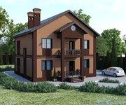 Проект кирпичного дома ГБ-165, площадь 165 кв.м - вид 1