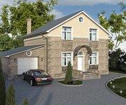 Проект кирпичного дома ГБ-178, площадь 178 кв.м - вид 1