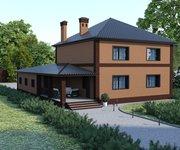 Проект дома ГБ-238 из кирпича, площадь 238 кв.м - вид 2