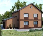 Проект кирпичного дома ГБ-194,  площадь 194 кв.м - вид 2