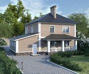 Проект кирпичного дома ГБ-193, площадь 193 кв.м - вид 2