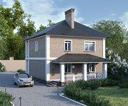 Проект кирпичного дома ГБ-168, площадь 168 кв.м - вид 2