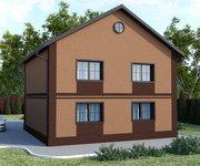 Проект кирпичного дома ГБ-165, площадь 165 кв.м - вид 2