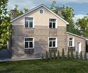 Проект кирпичного дома ГБ-178, площадь 178 кв.м - вид 2