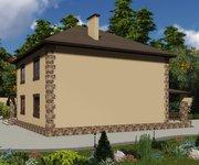 Проект кирпичного дома ГБ-220, площадь 220 кв.м - вид 4
