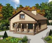 Проект кирпичного дома ГБ-152, площадь 152 кв.м - вид 4