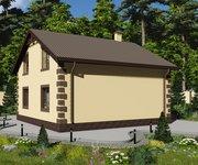 Проект кирпичного дома ГБ-177, площадь 177 кв.м - вид 4