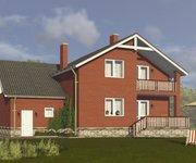 Проект кирпичного дома ГБ-208, площадь 208 кв.м - вид 4