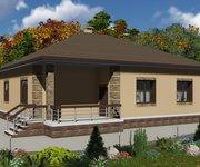 Проект одноэтажного кирпичного дома ГБ-162, площадь 162 кв.м - вид 4