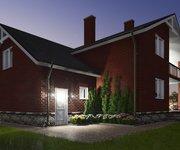 Проект кирпичного дома ГБ-208, площадь 208 кв.м - вид 5