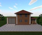 """Проект дома ГБ-181 """"Светлана"""" с гаражом, верандой и котельной, площадь 181 кв.м - вид 2"""