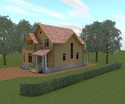 Проект каркасного дома КЩ-133, площадь 133 кв.м - вид 2