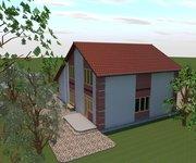 Проект дома ГБ-149 из кирпича, площадь 149 кв.м - вид 2
