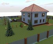 Проект кирпичного дома К-260, площадь 260 кв.м - вид 2