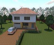 Проект каркасного дома КЩ-155, площадь 155 кв.м - вид 1