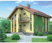 Проект каркасного дома Б-100, площадь 100 кв.м - вид 1