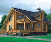 Проект дома БО-179 из профилированного бруса, 179кв.м. - вид 1