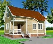 Проект каркасного дома КЩ-111, площадь 111 кв.м - вид 1